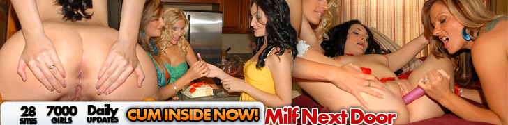 Horny MILFs Get Together to Satisfy Their Sexual Needs & Fantasies @ MILF Next Door